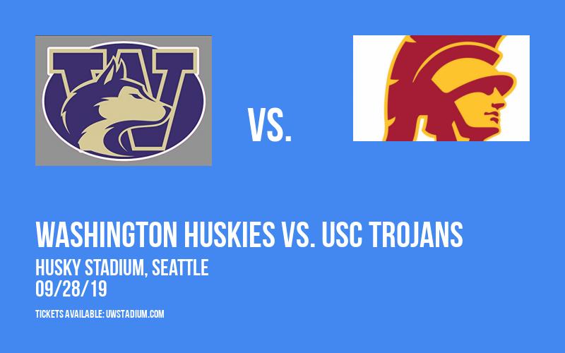 Washington Huskies vs. USC Trojans at Husky Stadium