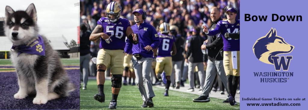 Washington Huskies game schedule