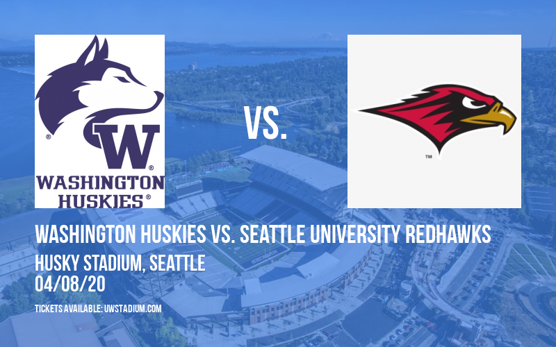 Washington Huskies vs. Seattle University Redhawks at Husky Stadium