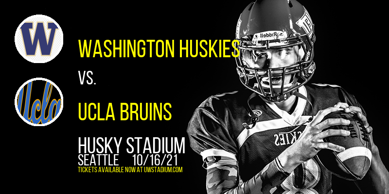 Washington Huskies vs. UCLA Bruins at Husky Stadium