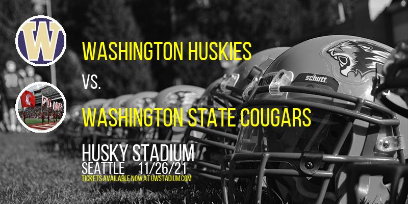Washington Huskies vs. Washington State Cougars at Husky Stadium