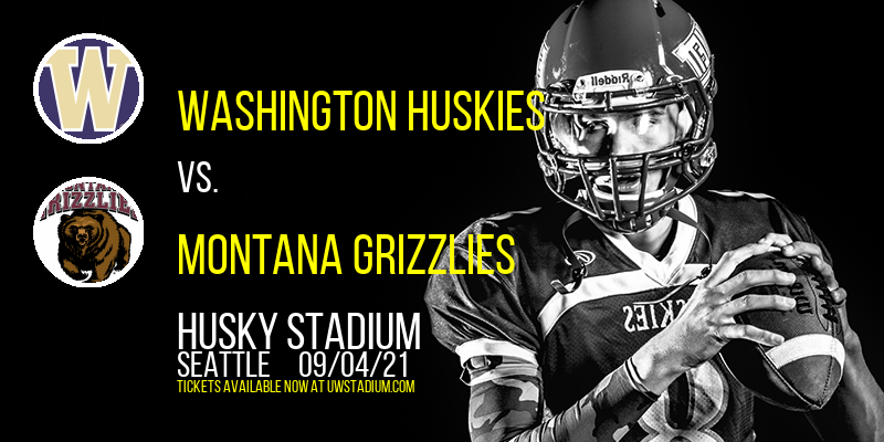 Washington Huskies vs. Montana Grizzlies at Husky Stadium
